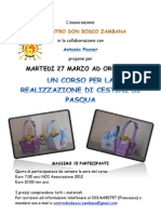 Zambana cestini Pasqua Oratorio Don Bosco