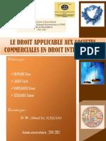 7- Le Droit Applicable Aux Societes Commerciales en Droit International