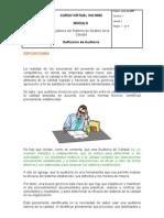 Tema 2.Definición de Auditoría.