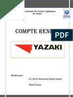 Rapport Sortie Yazaki