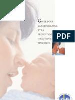 Guide pour la surveillance et la prévention des infections nosocomiales en maternité