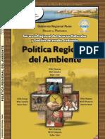 Politica Ambiental Regional 2011