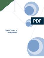 Direct Taxes in Bangladesh