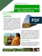 Fondo Agropecuario de Garantias .