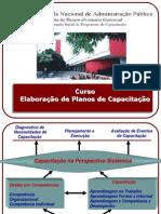 Slides CursoElaboracaoPlanosCapacitacao