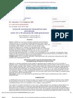 Revista chilena de pediatría - Curva de crecimiento intrauterino para prematuros entre 23 a 36 semanas de edad gestacional