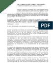 Lectura 2. Educación y Pedagogía. Edades Primitiva y Antigua