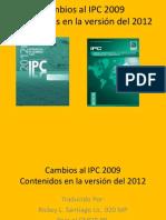 Traduccion Cambios Al IPC 2009 Contenidos en La Version Del 2012 Chapter 13
