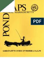 Maps Ponds Central Massachusetts