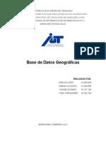 Base de datos geográfica