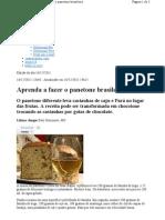 Aprenda Fazer o Panetone Brasileiro
