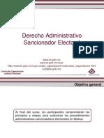 Cuadro de Administrativo Sancionador
