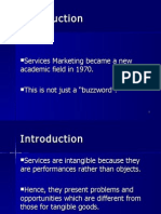Services Marketing for MM2
