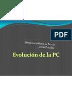 Evolución de la PC