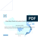 China Basic Plastics Synthetic Resin Industry Profile Cic2651