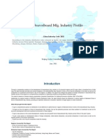 China Beaver Board Mfg. Industry Profile Cic2022