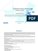 China Building Material Producing Equipment Mfg. Industry Profile Cic3614