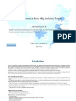 China Chemical Fiber Mfg. Industry Profile Cic28