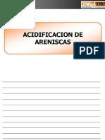 Acidificacion De Areniscas