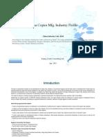 China Copier Mfg. Industry Profile Cic4154