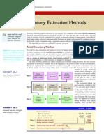 Inventory Estimation