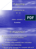 Ip Spoofing Ppt