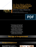 ARTID121 - Enlightenment and Neoclassicism