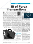 Audit of Forex Transactions