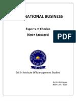 Goan Sausages Exports