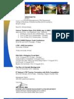LTM Calendar of Activities