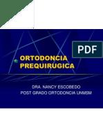 ORTODONCIA  PREQUIRUGICA
