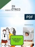 Examen obstetrico