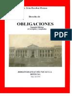 Libro Obligaciones Escobar Fornos
