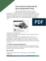 1.Manipular El Entorno de Desarrollo Del Lenguaje de Programacion Visual