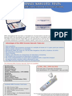 Forensic Test Leaflet
