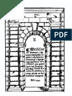 1549 Sagredo Medidas Del Romano