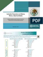 Día 1 - 01 - Carlos Serrano (CNBV) - Inclusión Financiera en México, retos y oportunidades