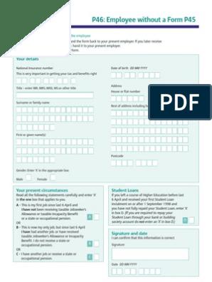 P46 Public Finance Government Finances