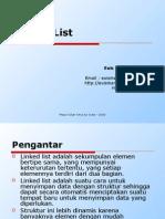 Materi 7 - Linked List
