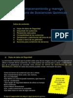 Cap Manejo y almacenamineto de sustancias químicas 2010