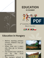 Presentation on Education in Zsombó_ver2
