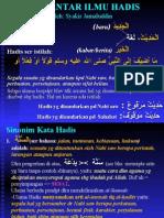 1-Pengantar-ULUMUL-HADIS