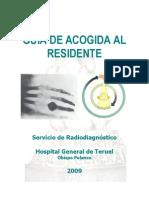 Guia de Acogida Residentes Radiodiagnstico HOP 2009