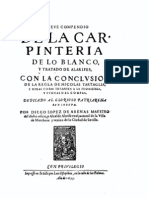 1633 Diego Lopez d Arenas Carpinteria Blanco