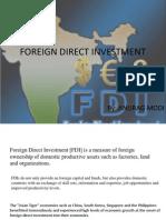 FDI Ppt Anurag