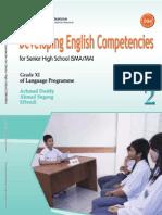 Developing English Competencies for Senior High School (SMA/MA) Grade XI