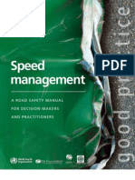 Speed Management Manual