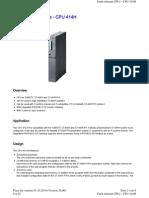 PLC CPU 414-H