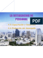 La Integracion de Personal4.5,4,6