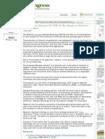 Artikel - DOE Awards Abengoa $2,5M for Biosyngas to Ethanol Development